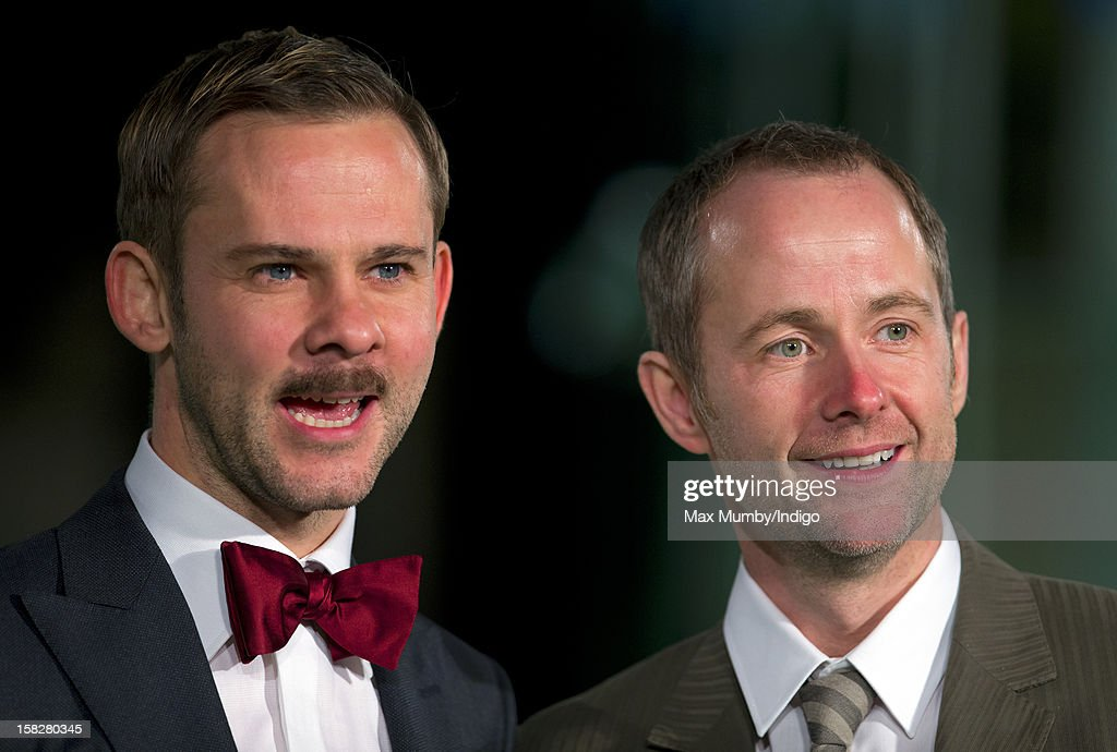 Dominic Monaghan and Billy Boyd attend the Royal Film Performance of 'The Hobbit: An Unexpected Journey' at Odeon Leicester Square on December 12, 2012 in London, England.