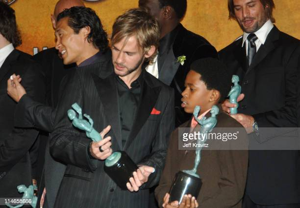 Dominic Monaghan and Malcolm David Kelley of 'Lost' winner Outstanding Performance by an Ensemble in a Drama Series