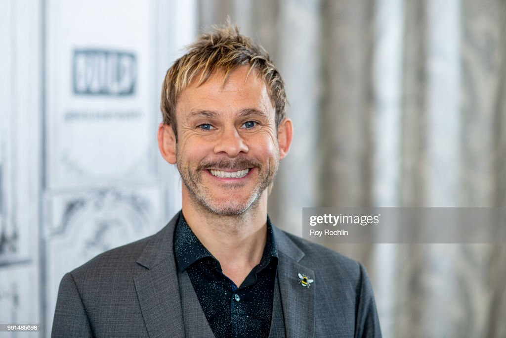 Dominic Monaghan discusses '100 Code' with the Build Series at Build Studio on May 22, 2018 in New York City.