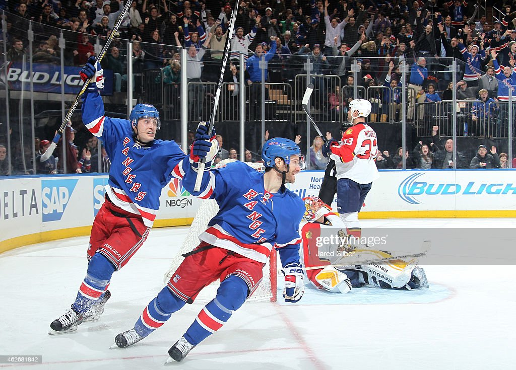 Florida panthers v new york rangers photos and images getty images dominic moore 28 and jesper fast 19 of the new york rangers react after voltagebd Gallery