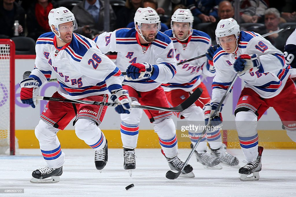 New York Rangers v Colorado Avalanche
