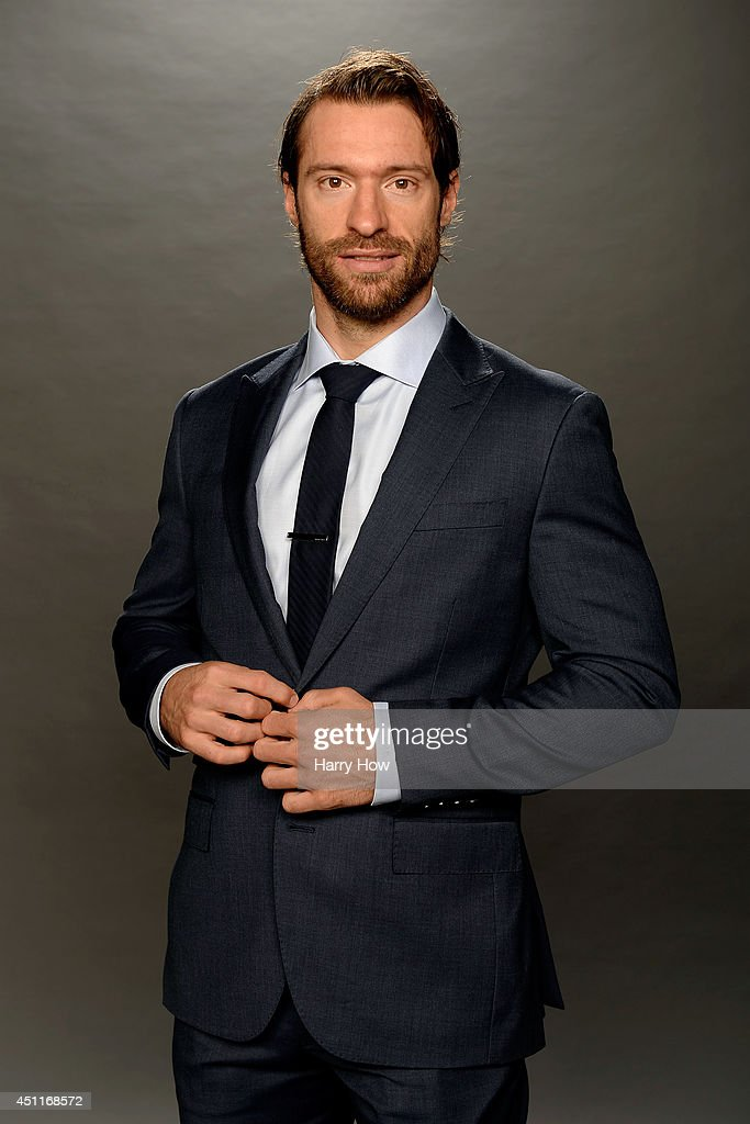 Dominic Moore of the New York Rangers poses for a portrait during the 2014 NHL Awards at Encore Las Vegas on June 24, 2014 in Las Vegas, Nevada.
