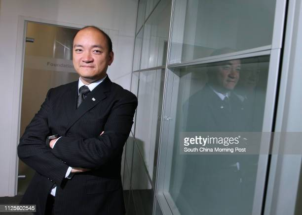 Dominic Pang Yatting Chairman of Chun Wo Development Holding Limited poses for photography at his office in Cheung Sha Wan 02OCT12