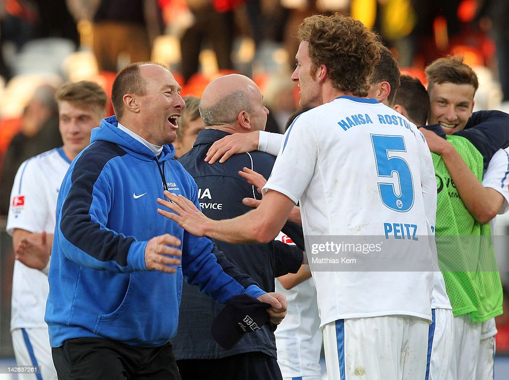 Energie Cottbus v Hansa Rostock - 2. Bundesliga