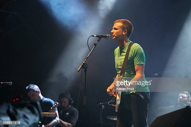 Dominic Philips and Paul Noonan of Bell X1 performs at electric Picnic at Stradbally Hall Estate on September 3, 2016 in Dublin, Ireland.
