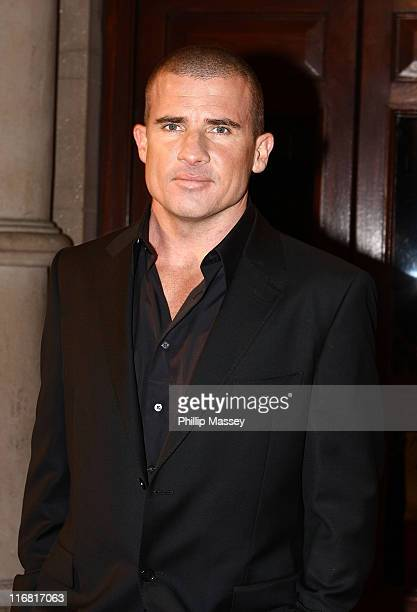 Dominic Purcell arrives for the Irish Film Television Awards at Gaiety Theatre on February 17 2008 in Dublin Ireland