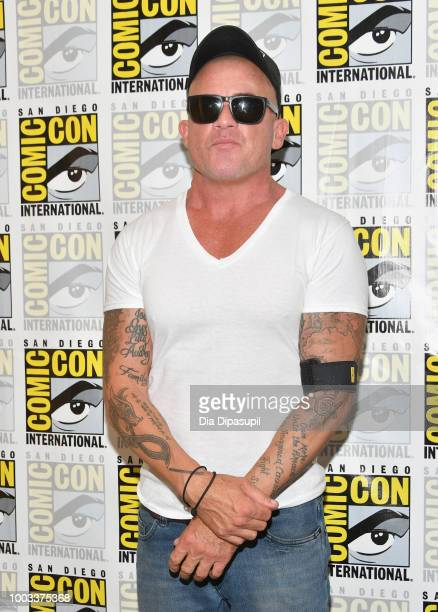 Dominic Purcell attends the 'DC's Legends Of Tomorrow' Press Line during ComicCon International 2018 at Hilton Bayfront on July 21 2018 in San Diego...