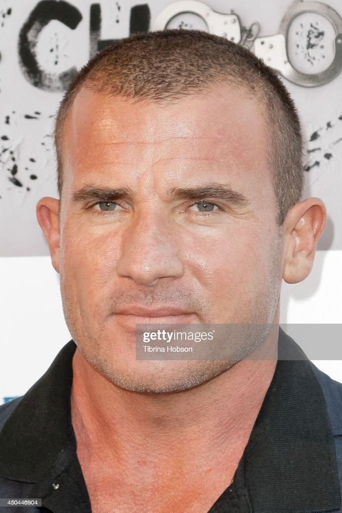 Dominic Purcell attends the screening of AnnaLynne McCord's 'I Choose' at Harmony Gold Theatre on June 10, 2014 in Los Angeles, California.