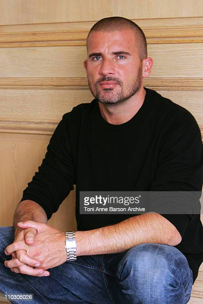 Dominic Purcell during MIPCOM 2006 Dominic Purcell Portrait for 'Prison Break' at Carlton Intercontinental Hotel in Cannes France