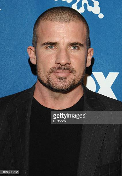 Dominic Purcell during The Fox All-Star Winter 2007 TCA Press Tour Party - Red Carpet and Inside at Villa Sorriso in Pasadena, California, United...