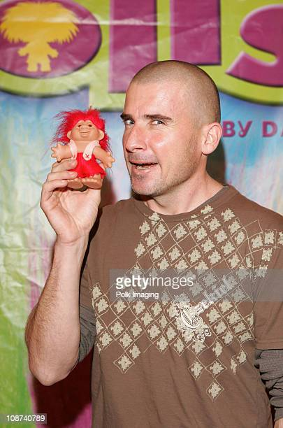Dominic Purcell with Trolls during The Original Lucky Trolls at Silver Spoons Hollywood Buffet Day 2 in Los Angeles California