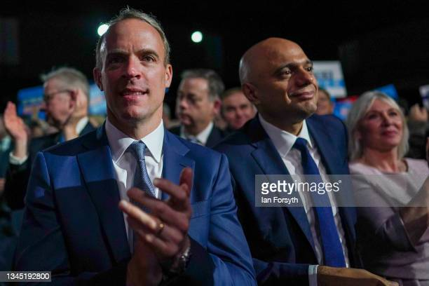 Dominic Raab, Deputy Prime Minister, Lord Chancellor, and Secretary of State for Justice, Sajid Javid, Secretary of State for Health and Social Care...