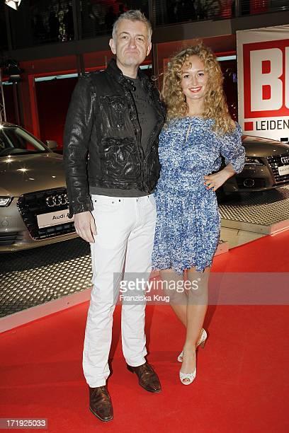 Dominic Raacke Und Janine Barth Bei Der Verleihung Der New Faces Awards In Berlin 070411