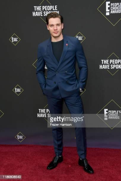 Dominic Sherwood attends the 2019 E People's Choice Awards at Barker Hangar on November 10 2019 in Santa Monica California