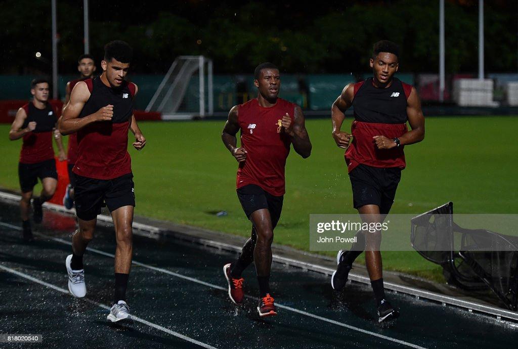 Liverpool Pre-Season Tour to Hong Kong : News Photo