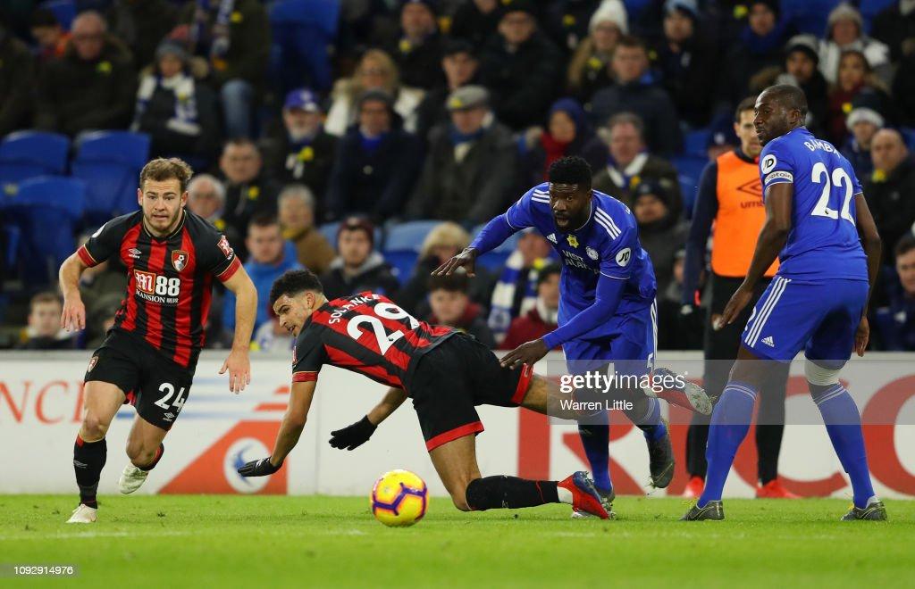 Cardiff City v AFC Bournemouth - Premier League : News Photo