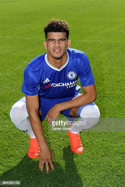 Dominic Solanke of Chelsea during the Chelsea Official Team Group at the Cobham Training Ground on September 13 2016 in Cobham England