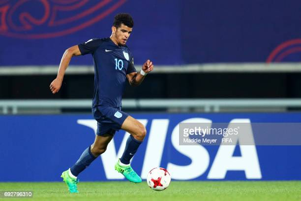 Dominic Solanke of England during the FIFA U20 World Cup Korea Republic 2017 Quarter Final match between Mexico and England at Cheonan Baekseok...