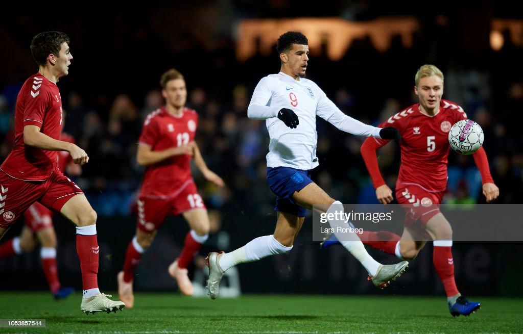 Denmark U21 vs England U21 - International Friendly Under-21 : News Photo