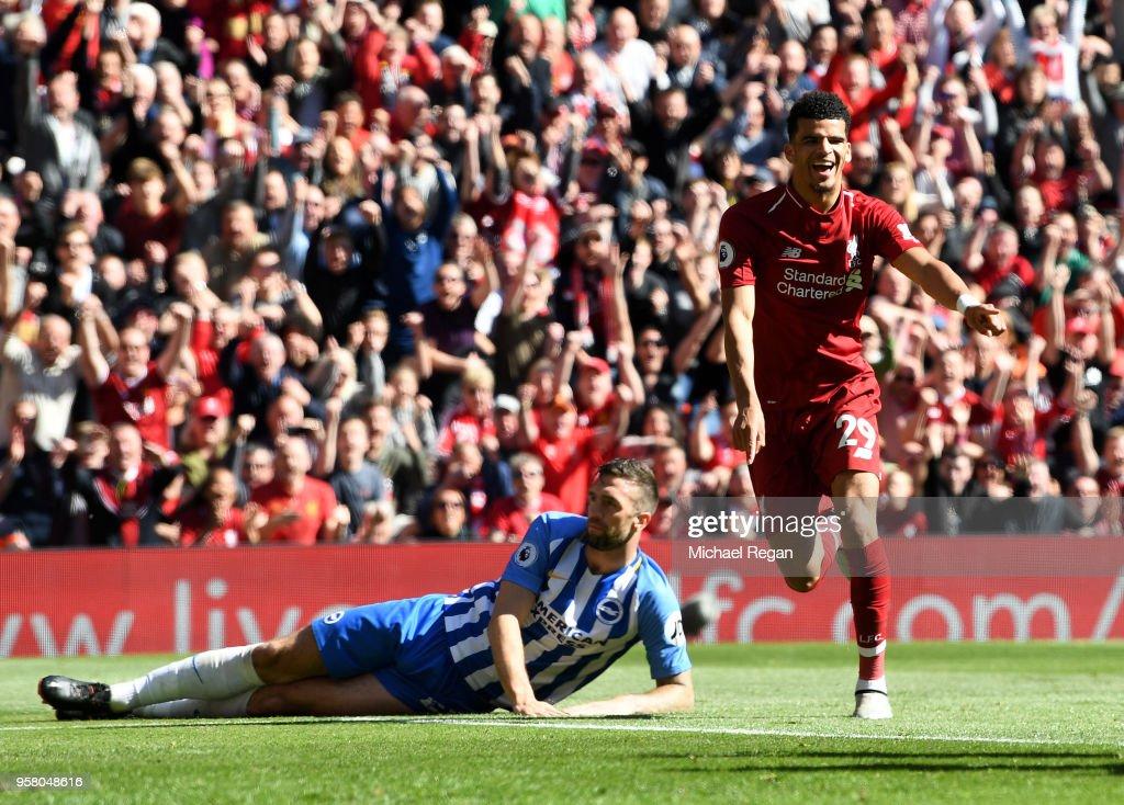 Liverpool v Brighton and Hove Albion - Premier League : News Photo
