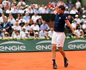 paris france dominic thiem austria hits