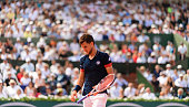 paris france dominic thiem austria looks