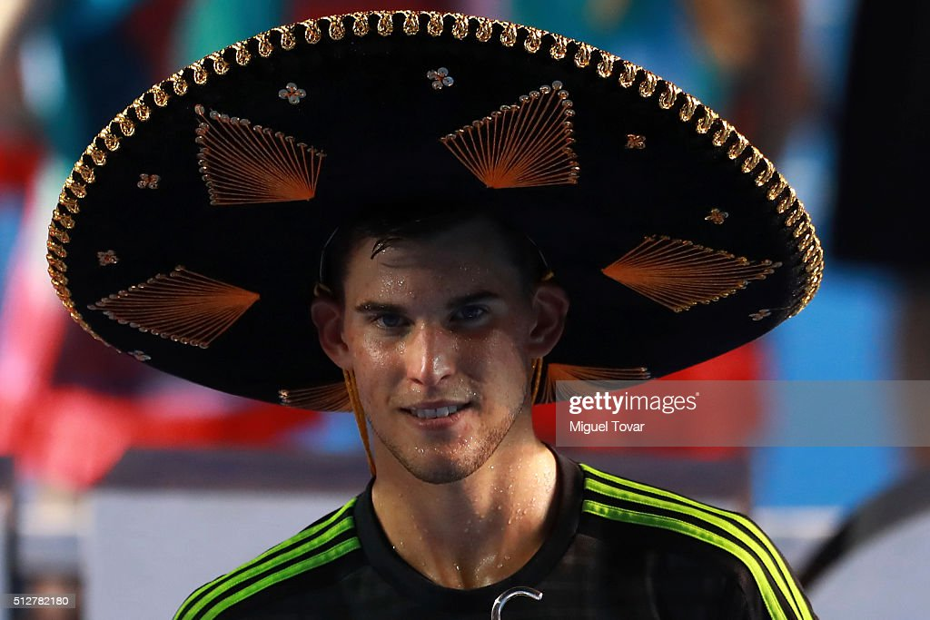 Telcel ATP Mexican Open 2016 - Tomic v Thiem : News Photo