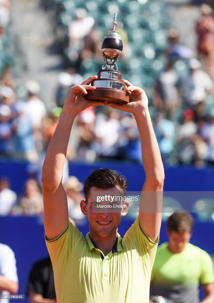 Dominic Thiem v Aljaz Bedene - ATP Argentina Open Final