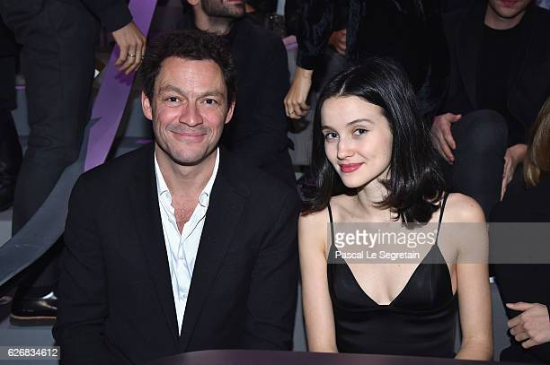 Dominic West and guest attend the Victoria's Secret Fashion Show on November 30 2016 in Paris France