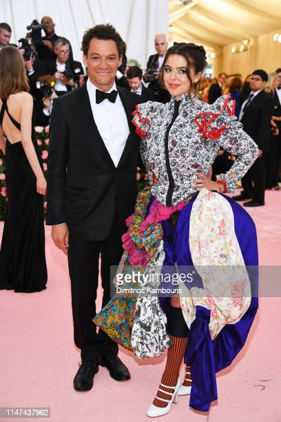 Dominic West and Martha attends The 2019 Met Gala Celebrating Camp Notes on Fashion at Metropolitan Museum of Art on May 06 2019 in New York City