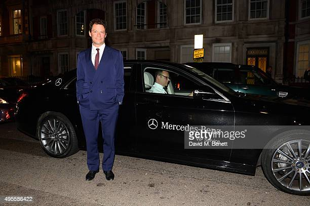 Dominic West arrives at Harper's Bazaar Women Of The Year Awards at Claridge's Hotel on November 3 2015 in London England
