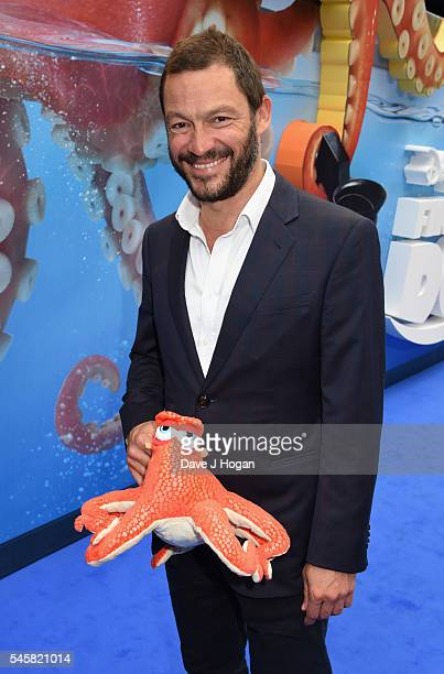 Dominic West arrives for the UK Premiere of 'Finding Dory' at Odeon Leicester Square on July 10 2016 in London England
