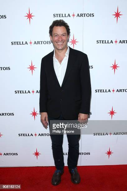 Dominic West at the Colette cast party in Cafe Artois during the Sundance Film Festival in Park City Utah on Saturday January 20 2018
