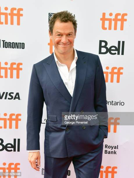Dominic West attends the Colette premiere during 2018 Toronto International Film Festival at Princess of Wales Theatre on September 11 2018 in...