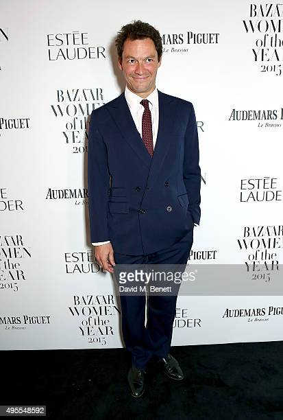 Dominic West attends the Harper's Bazaar Women of the Year Awards 2015 at Claridges Hotel on November 3 2015 in London England