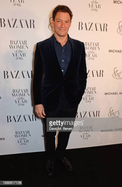 Dominic West attends the Harper's Bazaar Women Of The Year Awards 2018 in partnership with Michael Kors and MercedesBenz at Claridge's Hotel on...
