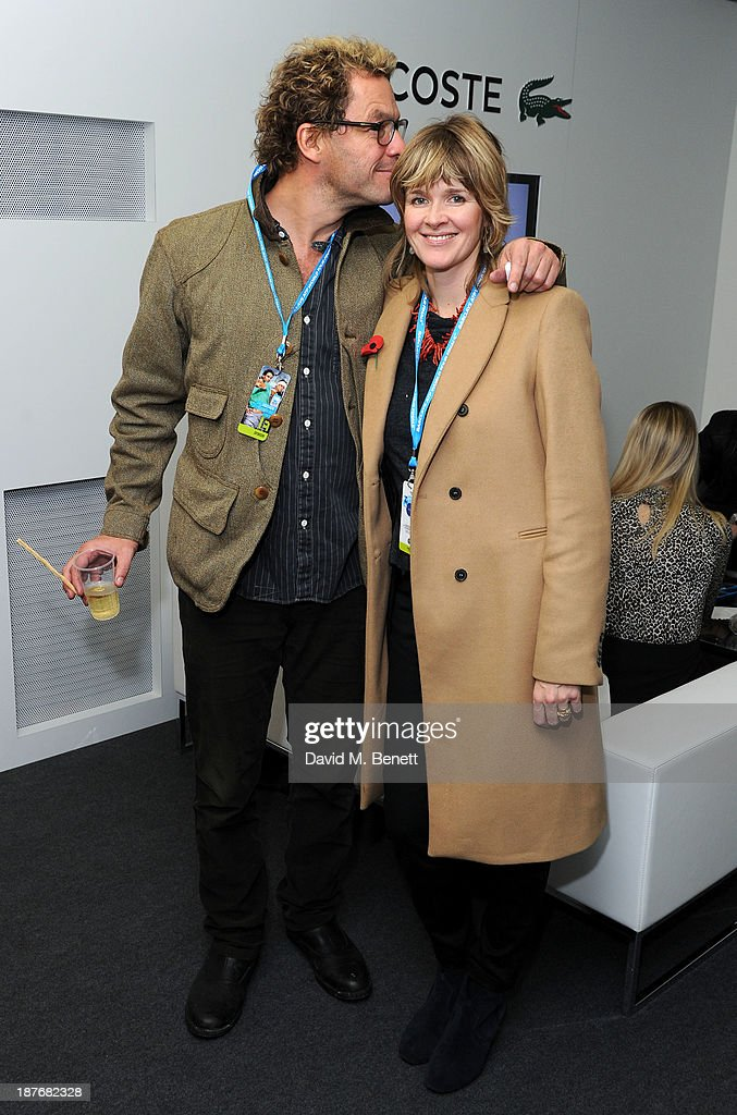 Dominic West attends the Lacoste VIP lounge at ATP World Finals 2013 at 02 Arena on November 11, 2013 in London, England.