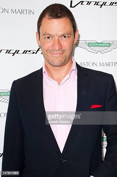 Dominic West attends the launch of Aston Martin Vanquish at the London Film Museum on July 4 2012 in London England