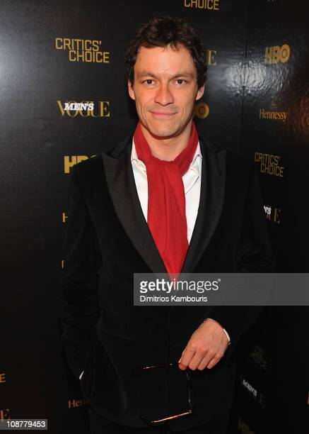 Dominic West attends the Men's Vogue and Hennessy Celebration of the Series Finale of The Wire at 399 Lafayette Street on March 5 2008 in New York...