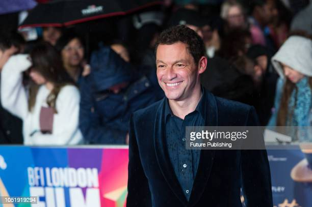 Dominic West attends the UK film premiere of 'Colette' at Cineworld Leicester Square during the 62nd London Film Festival BFI Patrons Gala October 11...