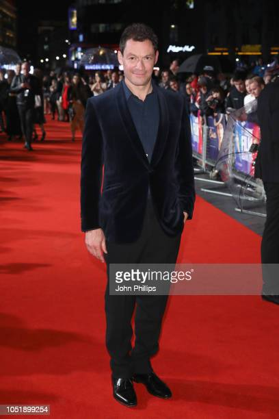 Dominic West attends the UK Premiere of Colette and BFI Patrons gala during the 62nd BFI London Film Festival on October 11 2018 in London England