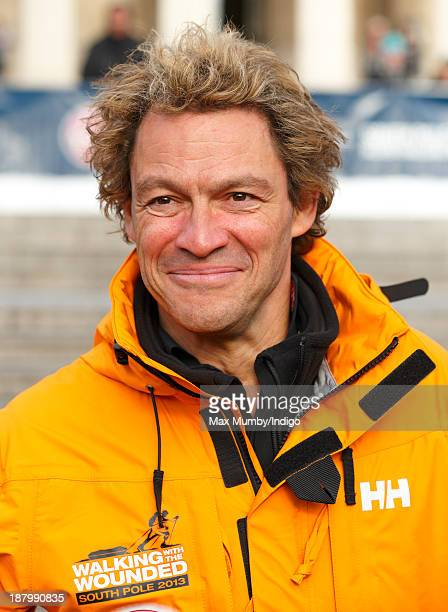 Dominic West attends the Walking With The Wounded South Pole Allied Challenge Departure Event at Trafalgar Square on November 14 2013 in London...
