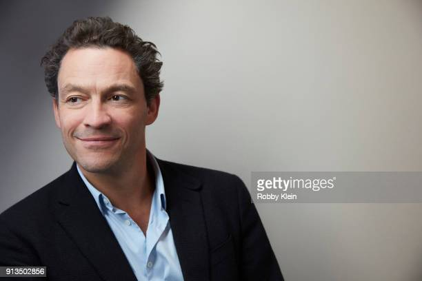 Dominic West from the film 'Colette' poses for a portrait in the YouTube x Getty Images Portrait Studio at 2018 Sundance Film Festival on January 21...