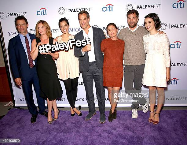 Dominic West Ruth Wilson Sarah Treem Josh Stamberg Maura Tierney Joshua Jackson and Julia Goldani Telles attend PaleyFest New York 2015 The Affair at...