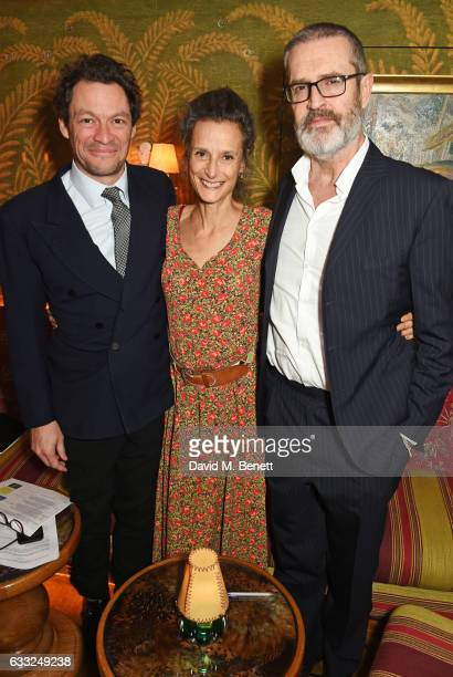 Dominic West Tracy Ward Marchioness of Worcester and Rupert Everett attend the Farms Not Factories #TurnYourNoseUp at Pig Factories benefit dinner...
