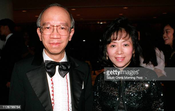 Dominic Wong Shingwah and Cecilia Wong are the guests among the 400 people packed in the Regent Hotel Ball room for the New Power International...