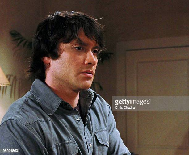HOSPITAL Dominic Zamprogna in a scene that airs the week of April 19 2010 on Walt Disney Television via Getty Images Daytime's General Hospital...