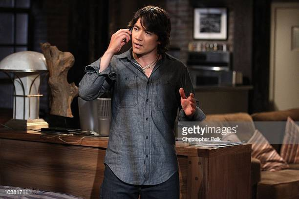 Dominic Zamprogna in a scene that airs the week of September 20 2010 on ABC's GENERAL HOSPITAL
