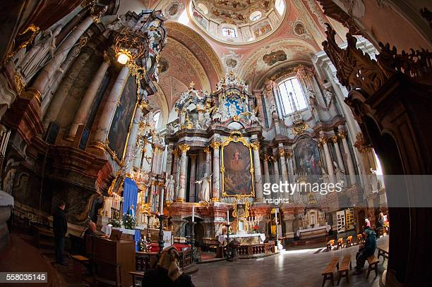 Dominican Church Of The Holy Spirit Vilnius Lithuania