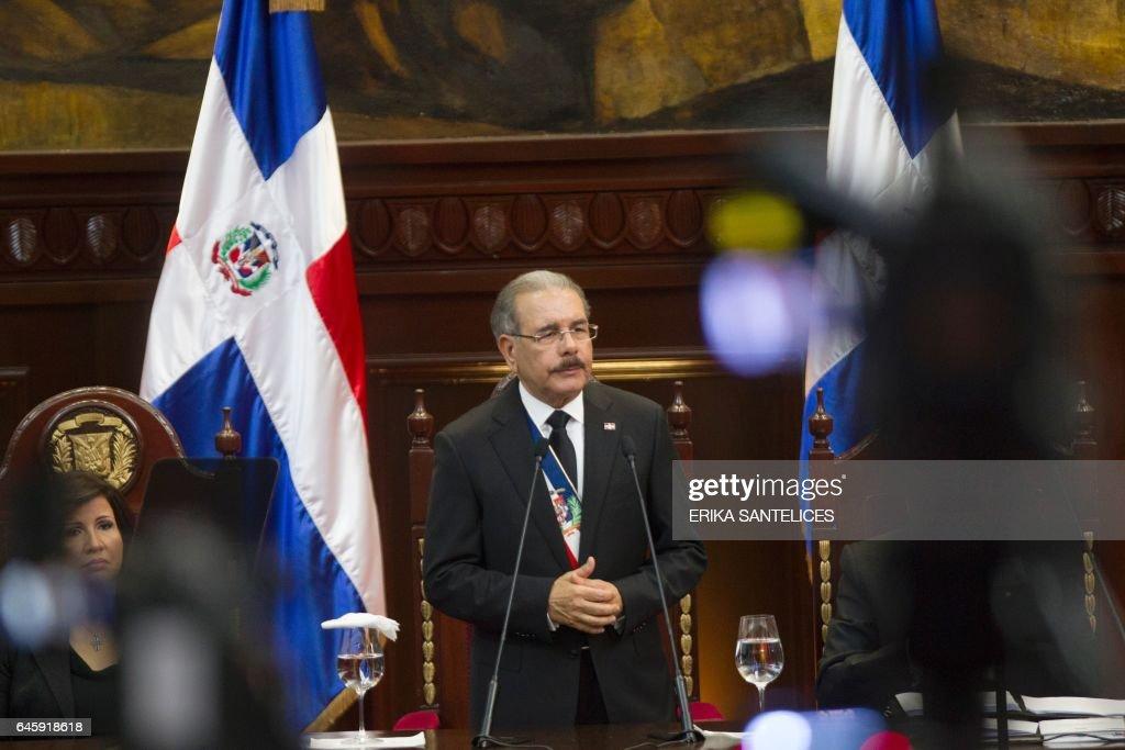 DOMINICAN REP-INDEPENDENCE-DAY-MEDINA : News Photo
